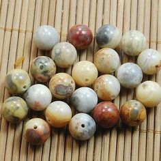 Wholesale-Natural-Genuine-Stone-Gemstone-Round-Spacer-Loose-Beads-4-6-8-10mm