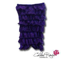 Purple Strapless Romper | Chloe Rose Headbands