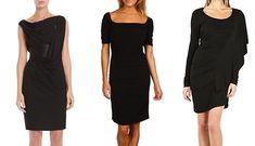 Little black dresses.