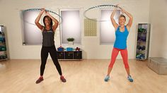 Backyard Workout: Tone Your Abs With a Hula Hoop: Bring a bit of backyard fun into your workout with Hoopnotica.
