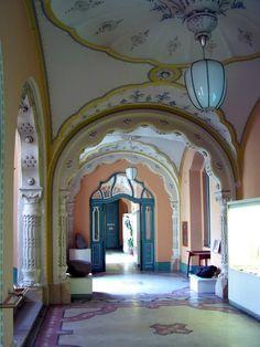 MÁFI, Budapest - Lechner Ödön (Hungarian Geological Institute, Budapest, Hungary - Ödön Lechner's art)