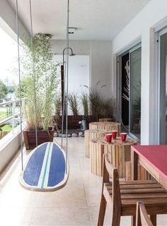Un appartement de surfeurs en Argentine
