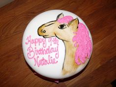c2d739cba47 Horse lover cake for little girl