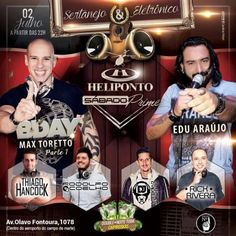 Heliponto Bar | Sertanejo e Eletrônico no Heliponto com Dj Rodolfo Coelho e D-Day Dj Max Toretto Coloque seu nome na lista pelo link: http://www.baladassp.com.br/balada-sp-evento/Heliponto-Bar/327 Whats: 11 95167-4133