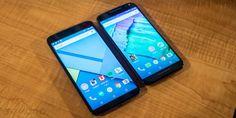 Nexus 6 (left), Moto X Style(right)