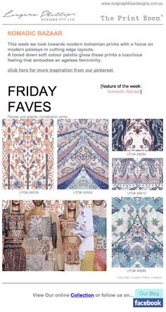 FRIDAY FAVES 29th August