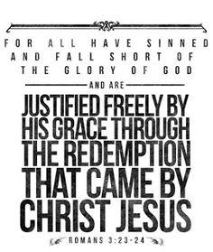 Romans 3:23-24