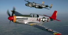 The Commemorative Air Force (CAF) Red Tail Squadron, America's tribute to the Tuskegee Airmen, today announced the event schedule for their remaining 2017 Fixed Wing Aircraft, Tuskegee Airmen, Air Festival, History Online, P51 Mustang, Ww2 Planes, Military History, Military Aircraft, Historical Photos