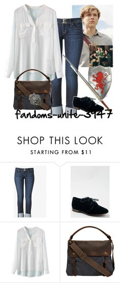 Narnia: Peter Pevensie by fandoms-unite-3947 on Polyvore featuring Hudson Jeans and Breckelle's