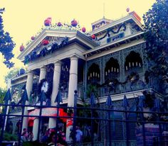 the Haunted Mansion Holiday