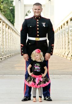 My Daddy Is A Hero Pettiskirt Set @Lindsay W.