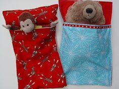 THE SEWING DORK: Handmade Holidays Tutorial - Sew Some Stuffie Sleeping Bags