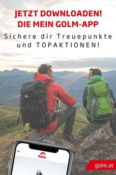 Unsere Mein Golm-App! So geht´s:   Vorteils-App downloaden -> Rechnung scannen -> Treuepunkte kassieren    Perfekt für deinen Sommerurlaub, Familienurlaub, Skiurlaub oder Wanderurlaub bei uns am Golm im Montafon. Wir lieben Österreich! #golmat Bergen, App, Outdoor, Ski Trips, Day Trips, Summer Vacations, Tours, Outdoors, Apps