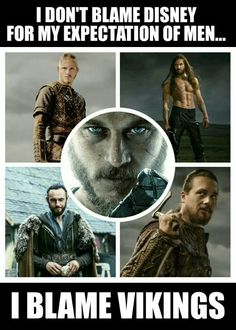 Viking men - cant help but fangirl
