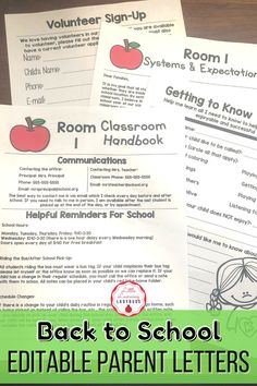 Set up a smooth running classroom from day one with these classroom management tips and tricks for running a tight ship! My classroom management set up, systems, and routines resources will help you create systems, set clear expectations, and establish solid routines for your students and families. Included are editable parent letters for back to school.