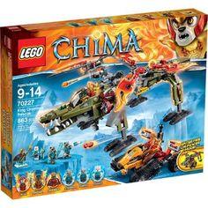 LEGO Chima King Crominus' Rescue, 70227 - Walmart.com