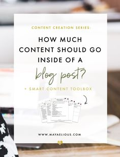 Content creation can be difficult. Do get you stuck creating blog content? In this post, I outline a simple structure to plan your blog content.