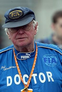 Professor Sid Watkins (GBR) F1 Doctor. Formula One World Championship, Rd8, Canadian Grand Prix, Montreal, Canada, 13 June 2003