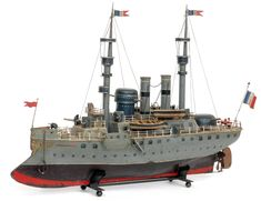 """Early Battleship Toys 