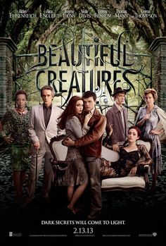 Beautiful Creatures... the book is amazing. the movie looks equally as amazing. super excited for this one.