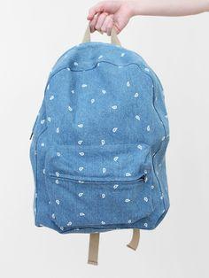 paisley backpack ++ dusen dusen