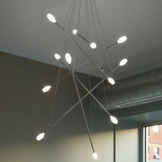 Batons Chandelier by LBL Lighting - contemporary - chandeliers - Lumens