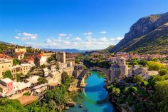 Mostar's top attraction is its elegant bridge - treasures of neighbouring Bosnia & Hercegovina and within day-tripping distance of Dubrovnik.