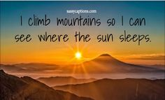 125 Captions for a Beautiful Sunset Sunset Captions For Instagram, Funny Instagram Captions, Cute Captions, Caption For Sunset, Caption For Nature, Mountain Quotes, Sunshine Quotes, Friend Birthday Quotes, Caption For Yourself