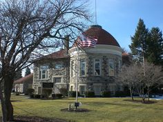 Library in Clyde, Ohio (where I grew up) - one of the Carnegie libraries