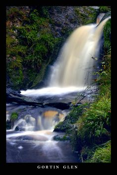 Gortin Glen Waterfall - Omagh, Tyrone