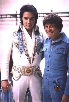 Elvis Presley with Jackie Kahane