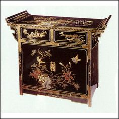 Oriental Furniture Unique Asian Decor Accent Chest 36 Inch Ching