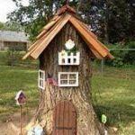 Tree Stump For Garden Art_13