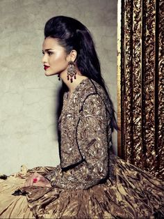 GOTHIC COUTURE shoot by Bazaar India