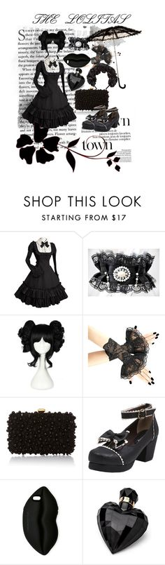 """""""THE LOLITAS"""" by mamtapraz ❤ liked on Polyvore featuring beauty, Elie Saab, STELLA McCARTNEY, Lipsy and Gucci"""