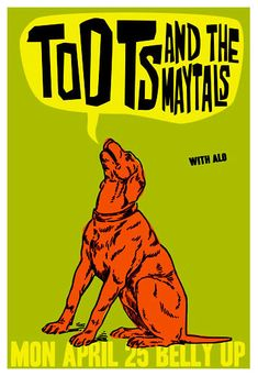 Toots and the Maytals Poster.