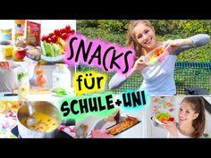 GESUND 2 GO! ESSEN FÜR DIE SCHULE / UNI / ARBEIT #VaniaMakesYouFit - YouTube
