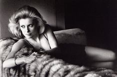 Portrait of Catherine Deneuve by Helmut Newton, 1976