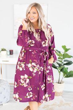 Flower Dresses, Modest Dresses, Desert Flowers, Plus Size Fashion Blog, Napa Valley, Eggplant, Deserts, Ann, Crystal
