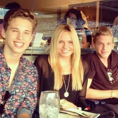 With Ryan Beatty & Cody does anyone else realize that Cody is the only one not smiling in the picture? Smile Cody! You have a amazing smile :)