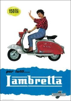 "TARGA VINTAGE ""LAMBRETTA""PUBBLICITA'STORICA,MOTO EPOCA,RADUNO,CLUB, BIKE,SCOOTER"