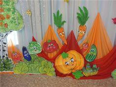 Картинки по запросу Детский сад украсить музыкальный зал к празднику осени
