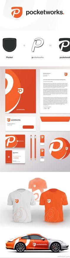 pocketworks branding identity design