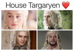 House Targaryen, Game of Thrones.
