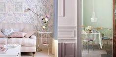 Decoración en tonos pastel para el hogar. Decorar la habitación en colores pastel, decorar el salón en colores pastel, decorar la cocina en colores pastel. Este tipo de colores siempre aportar un toque retro y vintage a nuestro hogar.