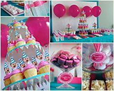 First Birthday Cake & Party Ideas