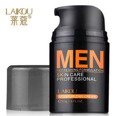 Cuidados com a pele. hidratante HANROY de controle de óleo, creme para o rosto tratamento de Acne Aloe ácido hialurônico clareamento creme Anti rugas.