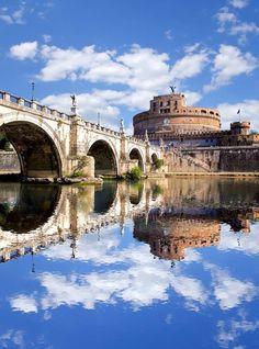 Castello Sant'Angelo (125-139 e 1447-1527). Roma, Italia.
