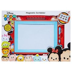 Your child can unleash their inner artist with the Tsum Tsum Magnetic Scribbler. Draw whatever you like on the Scribbler then add the stamps to make...