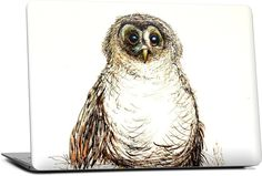 Baby Owl Laptop Skin - Nuvango  - 1